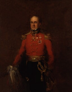 Sir Arthur Clifton, by William Salter - NPG 3704