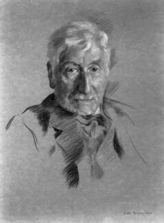 Edward Clodd, by Helen Catherine Bedford (née Carter) - NPG 2749