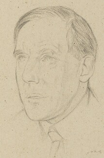 Arthur Clutton-Brock, by William Rothenstein - NPG 4770