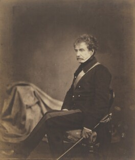 Colin Campbell, 1st Baron Clyde, by Roger Fenton, 1855 - NPG P20 - © National Portrait Gallery, London