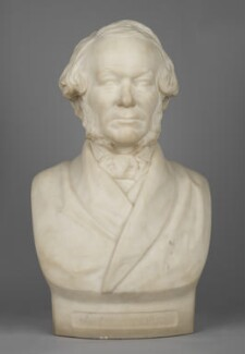 Richard Cobden, by Thomas Woolner - NPG 219