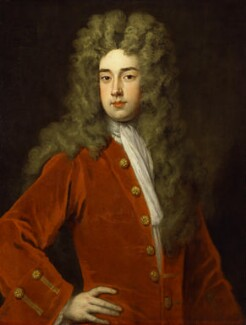 Richard Temple, 1st Viscount Cobham, by Sir Godfrey Kneller, Bt - NPG 3198