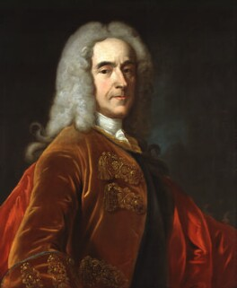 Richard Temple, 1st Viscount Cobham, after Jean Baptiste van Loo - NPG 286