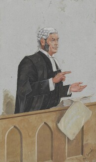 Alfred Cock, by Harold Wright ('Stuff') - NPG 3297