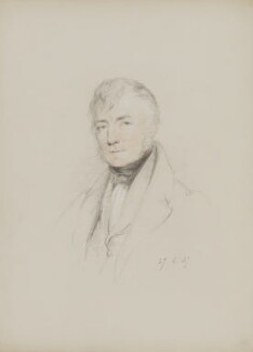 Thomas Frederick Colby, by William Brockedon - NPG 2515(82)