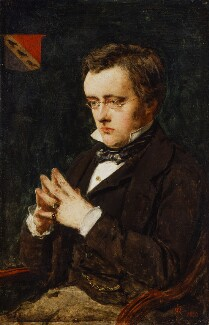 Wilkie Collins, by Sir John Everett Millais, 1st Bt - NPG 967