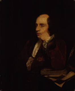 George Colman the Elder, by Sir Joshua Reynolds,  -NPG 1364 - © National Portrait Gallery, London