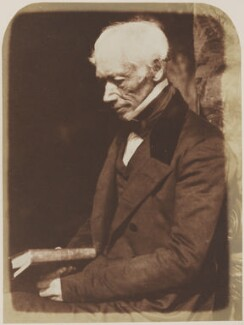 George Combe, by David Octavius Hill, and  Robert Adamson, 1843 - NPG  - © National Portrait Gallery, London