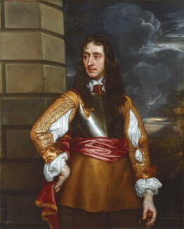 Sir William Compton, by Henry Peart the Elder, after  Sir Peter Lely, based on a work of circa 1660 - NPG 1522 - © National Portrait Gallery, London