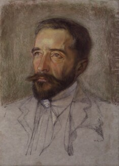 Joseph Conrad, by William Rothenstein - NPG 2097