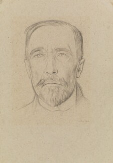 Joseph Conrad, by William Rothenstein - NPG 2207