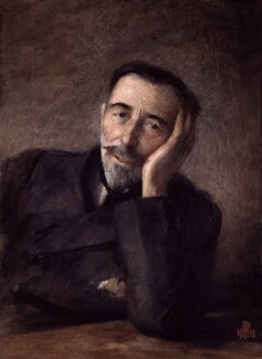 Joseph Conrad, by Percy Anderson, 1918 - NPG 1985 - © National Portrait Gallery, London