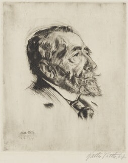 Joseph Conrad, by Walter Tittle - NPG 2482