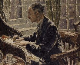 William George Constable, by Elizabeth Polunin (née Hart) - NPG 5090