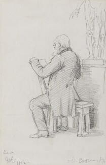 Abraham Cooper, by Charles West Cope - NPG 3182(1)