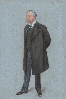 Sir Alfred Cooper, by Sir Leslie Ward - NPG 5013