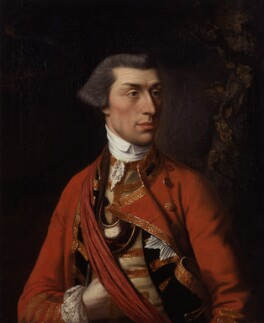 Sir Eyre Coote, attributed to Henry Robert Morland, circa 1763 - NPG 124 - © National Portrait Gallery, London