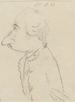 Sir John Cope(?), by George Townshend, 4th Viscount and 1st Marquess Townshend - NPG 4855(47)