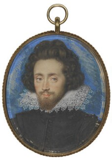 Richard Boyle, 1st Earl of Cork, by Isaac Oliver - NPG 2494