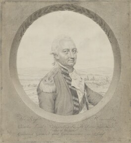 Charles Cornwallis, 1st Marquess Cornwallis, by John Smart, 1792 - NPG 4316 - © National Portrait Gallery, London