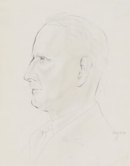 Howard Coster, by Eric Gill - NPG 5196
