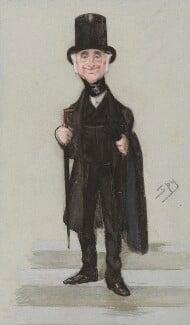 Thomas Francis Fremantle, 1st Baron Cottesloe, by Sir Leslie Ward, published in Vanity Fair 22 July 1876 - NPG 3190 - © National Portrait Gallery, London