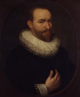 Unknown man, formerly known as Sir Robert Bruce Cotton, 1st Bt, by Unknown artist - NPG 4270