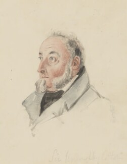 Sir Willoughby Cotton, by James Atkinson - NPG 824
