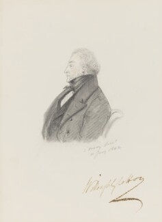 Sir Willoughby Cotton, by Alfred, Count D'Orsay - NPG 4026(15)