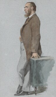 Leonard Henry Courtney, 1st Baron Courtney of Penwith, by Théobald Chartran ('T'), published in Vanity Fair 25 September 1880 - NPG 4633 - © National Portrait Gallery, London