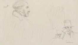 Solomon Alexander Hart; Samuel Cousins, by Charles West Cope - NPG 3182(3)