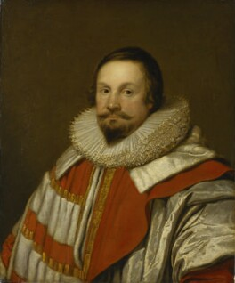 Thomas Coventry, 1st Baron Coventry, after Cornelius Johnson (Cornelius Janssen van Ceulen) - NPG 716