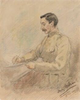 Henry Vivian Cowan, by Inglis Sheldon-Williams - NPG 4039(1)