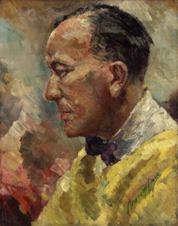 Noël Coward, by Clemence Dane (Winifred Ashton), before 1939 - NPG 4950 - © National Portrait Gallery, London