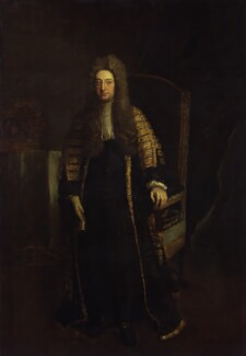 William Cowper, 1st Earl Cowper, after Jonathan Richardson - NPG 736