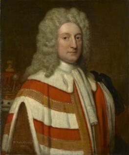 William Cowper, 1st Earl Cowper, by Sir Godfrey Kneller, Bt - NPG 1228
