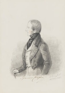 Charles Spencer Cowper, by Alfred, Count D'Orsay - NPG 4026(16)