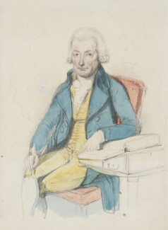 William Cowper, by William Harvey, after  Lemuel Francis Abbott - NPG 806