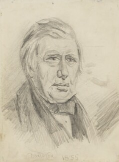 David Cox, by Unknown artist - NPG 1074