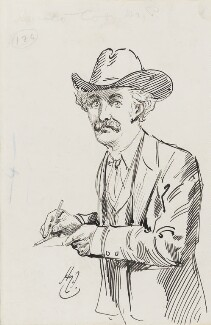 Harold Cox, by Harry Furniss - NPG 3560