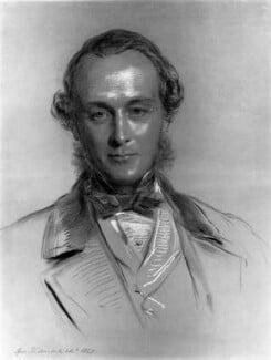 Gathorne Gathorne-Hardy, 1st Earl of Cranbrook, by George Richmond, 1857 - NPG 1449 - © National Portrait Gallery, London