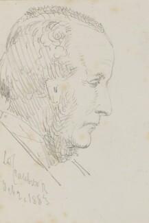 Gathorne Gathorne-Hardy, 1st Earl of Cranbrook, by Sebastian Evans, 20 October 1883 - NPG 2173(46) - © National Portrait Gallery, London