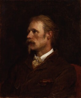 Walter Crane, by George Frederic Watts - NPG 1750