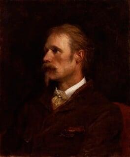 Walter Crane, by George Frederic Watts, 1891 - NPG 1750 - © National Portrait Gallery, London