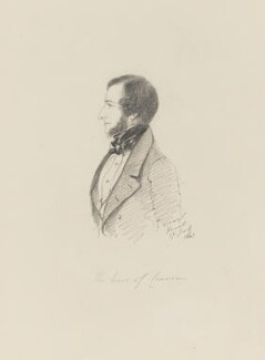 William Craven, 2nd Earl of Craven, by Alfred, Count D'Orsay - NPG 4026(17)