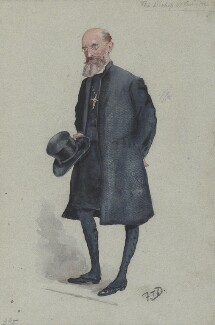 Mandell Creighton, by Frederick Thomas Dalton ('F.T.D.') - NPG 2706