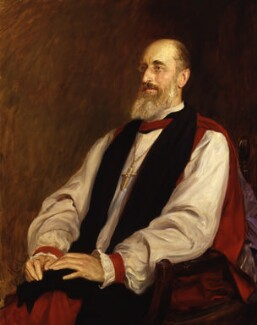 Mandell Creighton, by Sir Hubert von Herkomer - NPG 1335