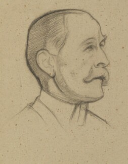 Robert Offley Ashburton Crewe-Milnes, 1st Marquess of Crewe, by William Rothenstein - NPG 4772