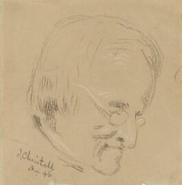 Joshua Cristall, by Charles Hutton Lear - NPG 1456(3)