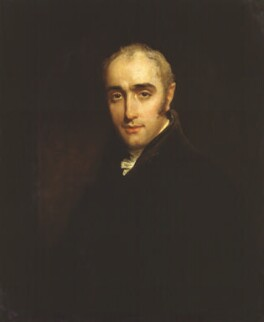 John Wilson Croker, by William Owen - NPG 355